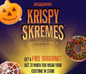 Krispy Kreme: FREE Doughnut of Your Choice on October 31st