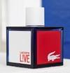 FREE Sample of Lacoste L!VE Fragrance