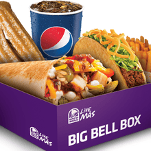 The Grande Meal comes with a total of 10 items. Choose from crunchy beef tacos, soft beef tacos, and bean burritos! Order now and skip our line inside!